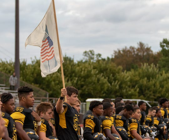 The Sayreville and Piscataway high school football teams met Friday night at Ciardi Field.