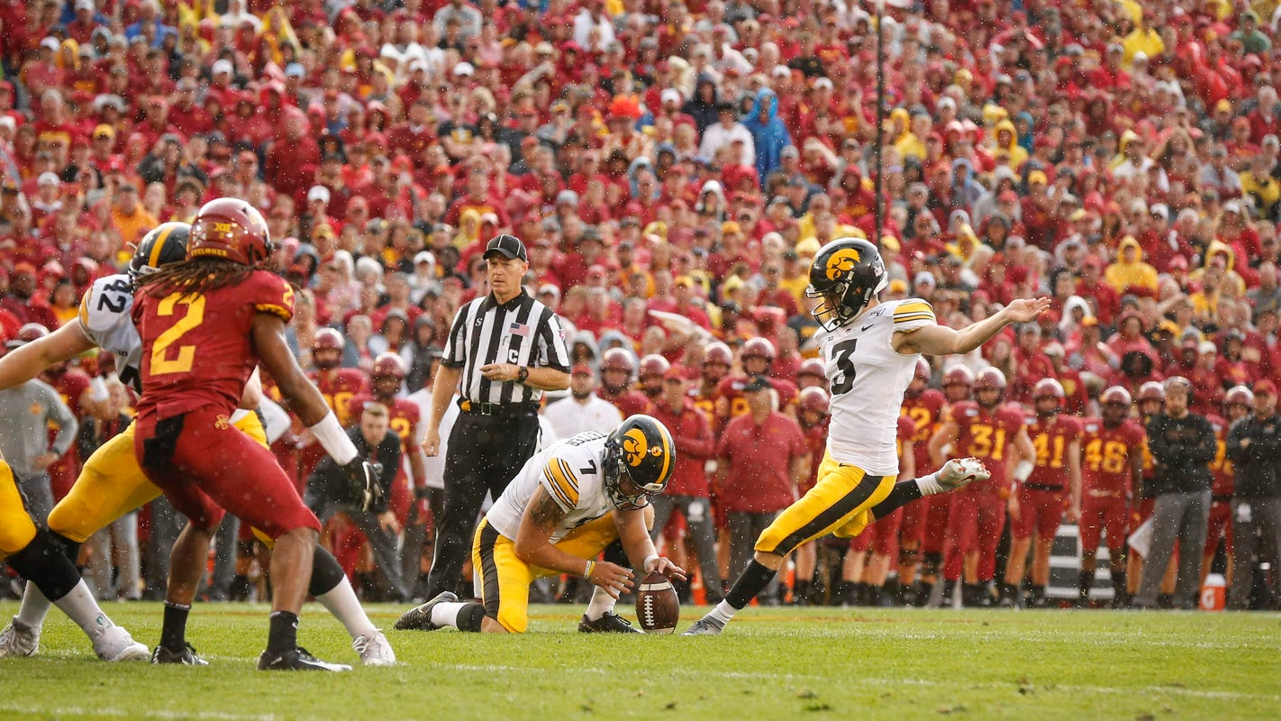 Five improbable storylines in Iowa's one-point Cy-Hawk win