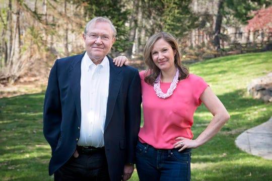 Michael Bornstein and his daughter Debbie Holinstat.