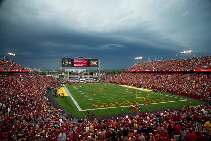 Iowa State says 10 student-athletes have tested positive for coronavirus