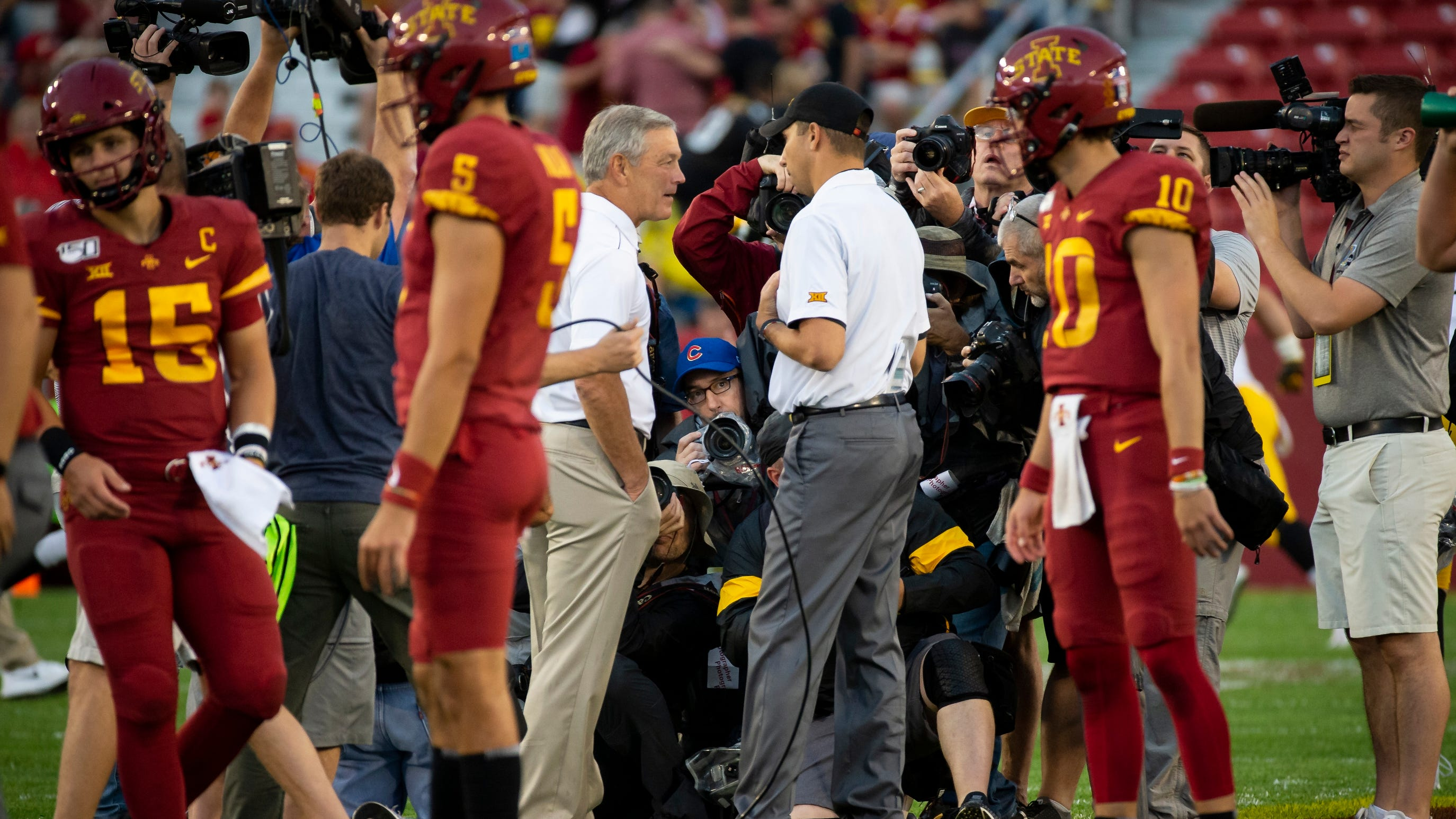 2021 Cy-Hawk football game at Jack Trice Stadium draws national television time slot