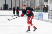 First-round pick Moritz Seider is expected to be in the lineup when the Red Wings open exhibition play Wednesday against the Blackhawks.