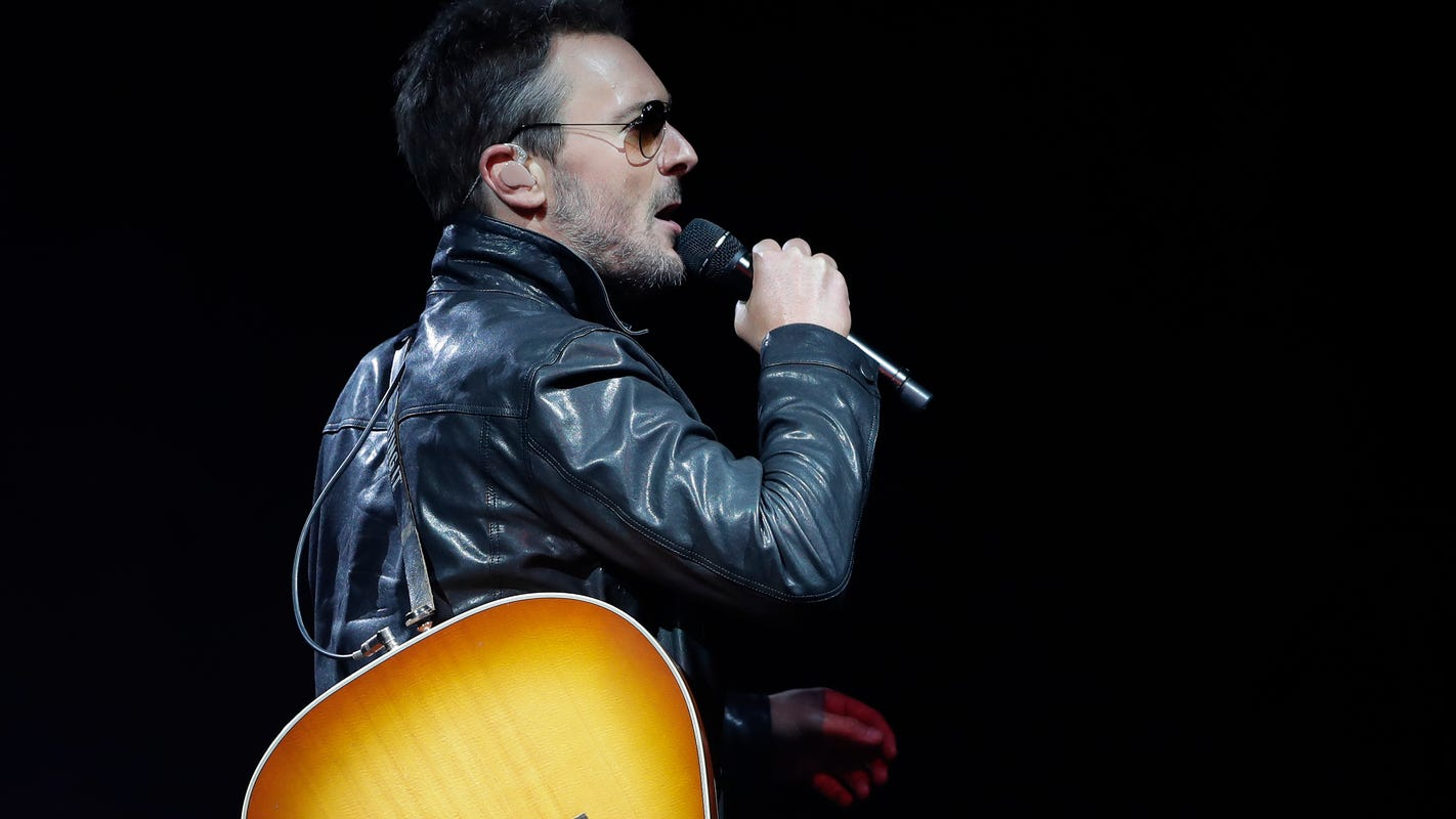 Eric Church concert review: It's one wild night down, one to go on Double Down Tour at Resch