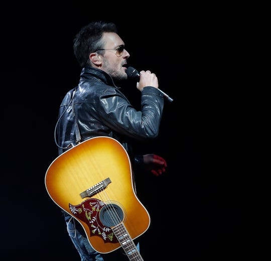 It was the first of back-to-back nights for Eric Church Friday at the Resch Center, where he played two sets with no opening acts.