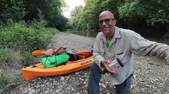 An IndyStar visual journalist packed camping gear and went out to kayak along Central Indiana's White River and meet the people who call it home.