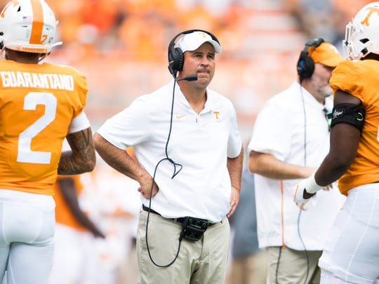 """""""I don't think it's something to where our players are not being responsible,"""" Tennessee head coach Jeremy Pruitt said. """"I definitely don't think that."""""""