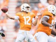 J.T. Shrout should start at quarterback for Tennessee football team against Alabama | Adams