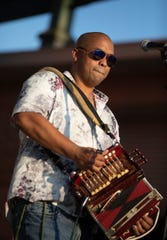 Downtown Alive! opens its fall season with the music of Corey Ledet & His Zydeco Band at Parc International in downtown Lafayette Friday, Sept. 13, 2019.