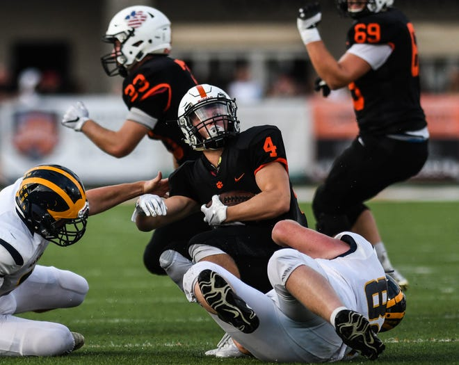 Brighton and Hartland will continue their football rivalry under a revised schedule put together by the KLAA.