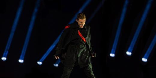 'The last men standing': Backstreet Boys make stop in Louisville for DNA World Tour