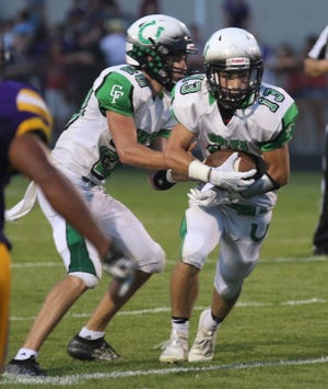 Clear Fork's Collin Crider scored a late touchdown to help the Colts complete an 18-point comeback while also picking off a pass to seal the victory in a 30-21 win over Bellevue.