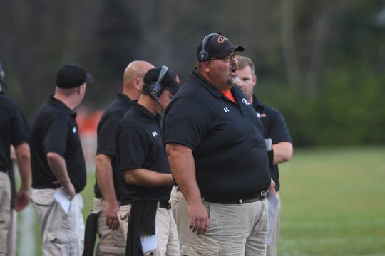 Lucas coach Scott Spitler was named the Division VII Northwest District Coach of the Year.