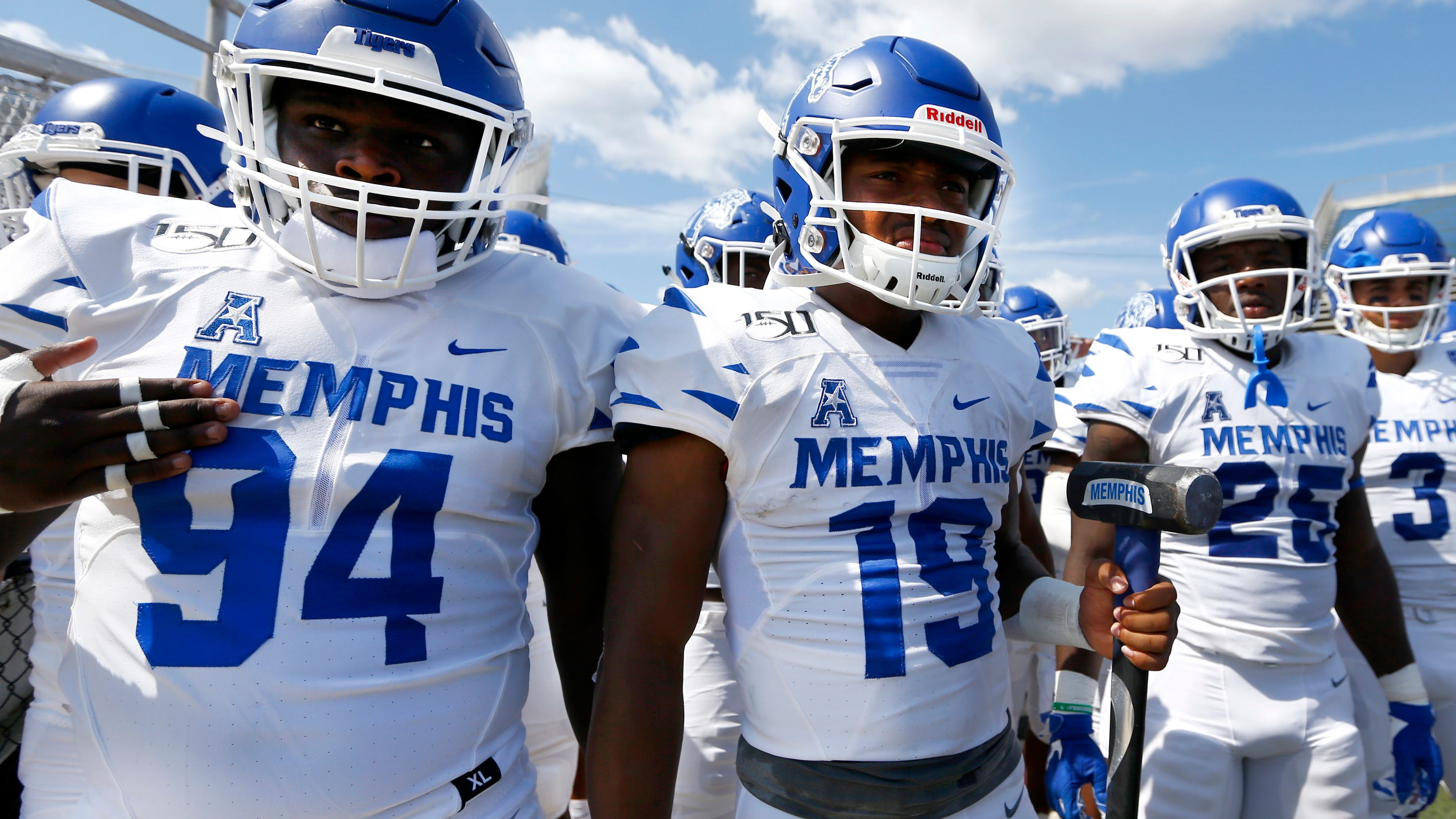 Memphis Football Tigers Remain Just Outside Top 25 In