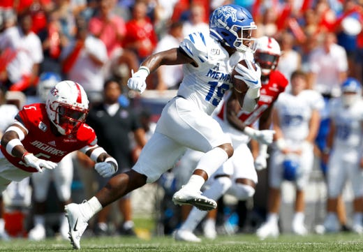 Memphis football's Pop Williams out for season with knee injury