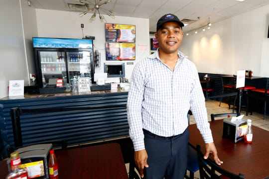 Schiller Jerome, owner of Krab Kingz in Bartlett on Thursday, Sept. 12, 2019.