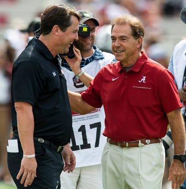 LIVE: No. 2 Alabama opens SEC play at upset-minded South Carolina