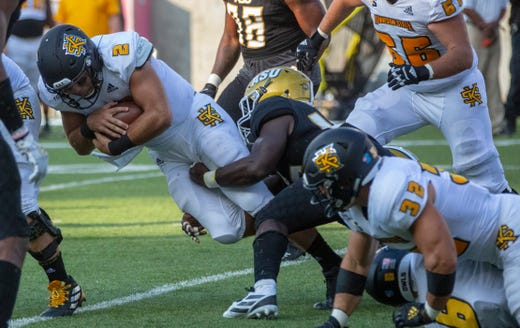 Alabama State overwhelmed by No. 7 Kennesaw State at home