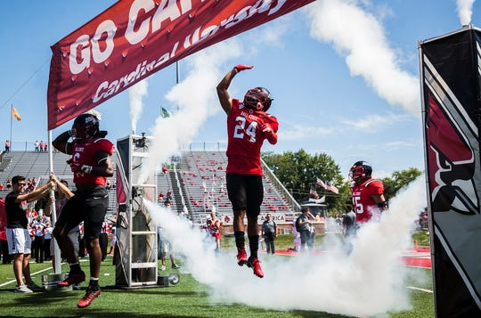 Ball State faces off against Florida Atlantic at Scheumann Stadium Saturday, Sept. 14, 2019.