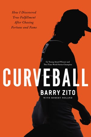 Cover of the book Curveball by Barry Zito, Cy Young Award winning pitcher and current resident of Nashville. The book will be released Sept. 17, 2019 by Nashville-based W Publishing Group, an imprint of  Thomas Nelson