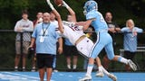 Christian Puntolillo made a crazy catch at the 1-yard line to set up Wayne Hills' first TD against rival Wayne Valley.