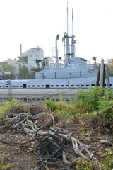 The USS Ling was burglarized in the summer of 2018 allegedly causing damage of hundreds of thousands of dollars.     Chris Monroe/ Special to NorthJersey.com