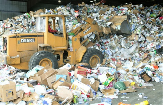 Managing just one foothill of consumer waste at Friedman Recycling.