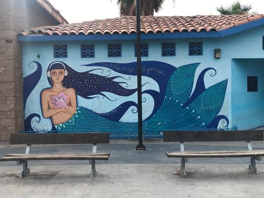 A mural in San Felipe