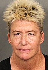 Margo Rose Addeo, 55, was arrested on suspicion of driving under the influence of alcohol on Friday afternoon, according to the Riverside County Sheriff's Department.