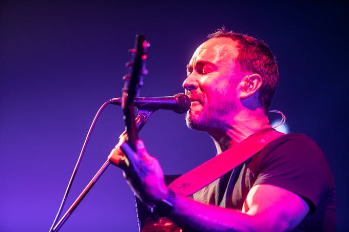 "Dave Matthews Band performs at Ak-Chin Pavilion in Phoenix on Friday, Sept. 13, 2019 | <strong>REVIEW:</strong>&nbsp;<strong><a href=""https://www.azcentral.com/story/entertainment/music/2019/09/14/dave-matthews-band-dropped-sledgehammer-jams-phoenix-ak-chin-pavilion/2325907001/"">The Dave Matthews Band dropped a sledgehammer of crowd-pleasing jams on Phoenix</a></strong>"