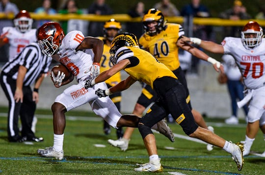 Central York at Red Lion football, Friday, September 13, 2019