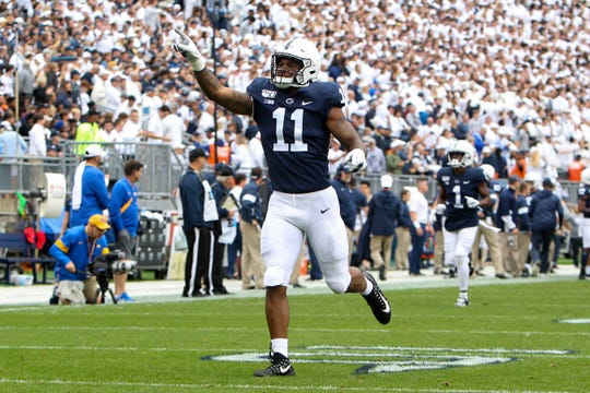 Linebacker Micah Parsons - who was a talented runner and kick returner at Harrisburg High School - wants a shot at returning kicks for Penn State.