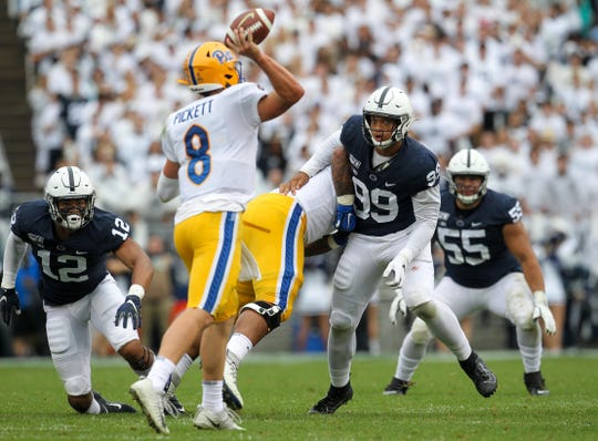 No. 11 Penn State survives challenge from Pittsburgh with late defensive stands