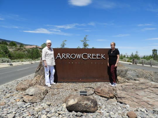 Janet (left) and Kathi have taken the lead in efforts to make their ArrowCreek neighborhood a fire adapted community.