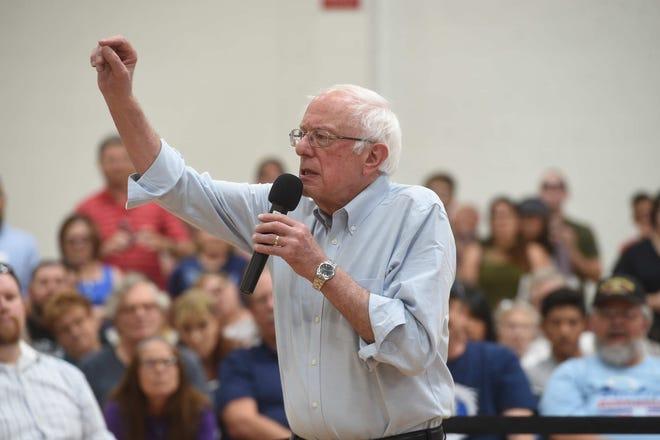 Bernie Sanders campaigns in northern Nevada on Sept. 13, 2019.
