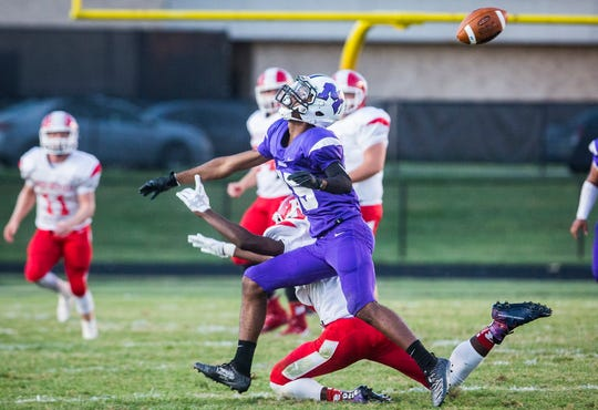 Richmond faces off against Central at Muncie Central High School Saturday, Sept. 13, 2019.