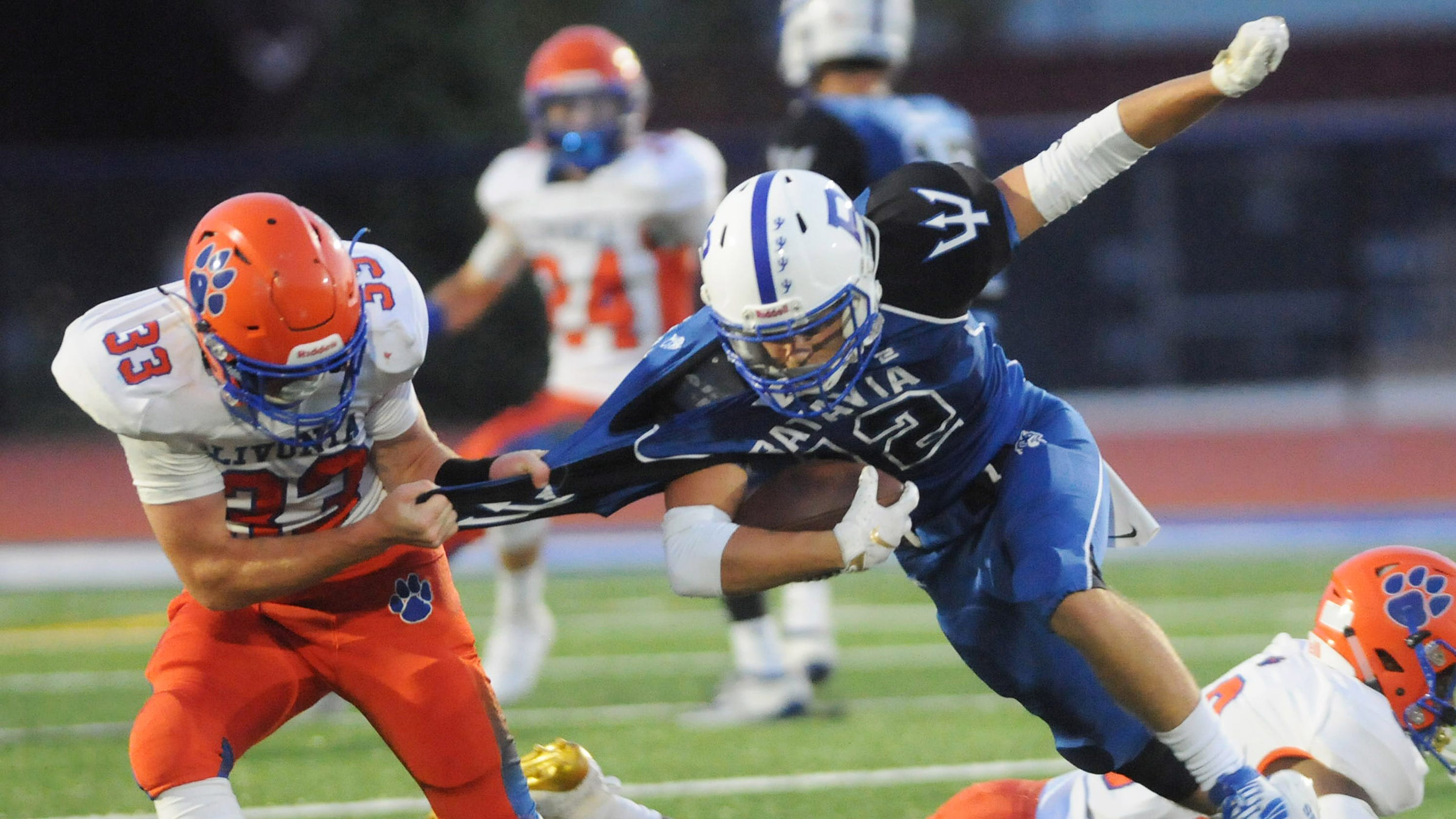 Section V football: Batavia bests Livonia in Class B clash