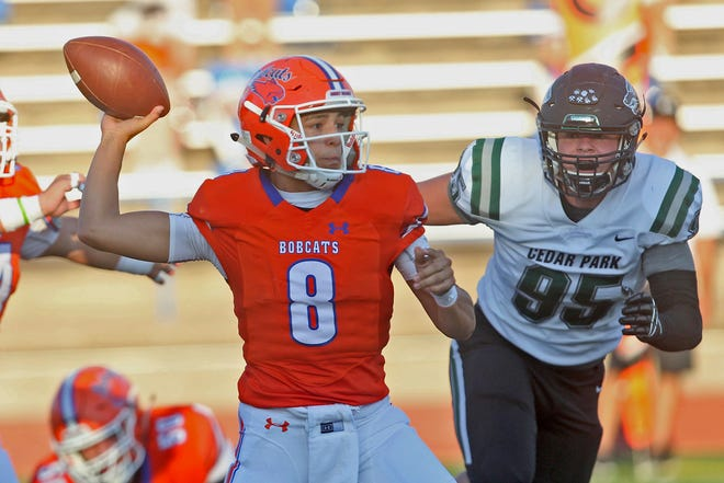 San Angelo Central High School quarterback Malachi Brown says the Bobcats are ready to atone for last week's loss with a win against Hurst Bell Friday night.