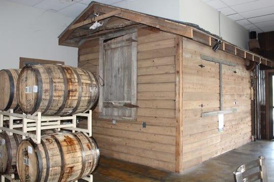 The Smokehouse at Red River Brewing Company was created from the smokehouse of former Louisiana governor Earl Long.