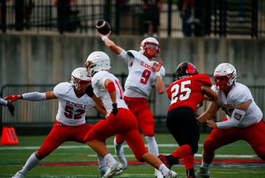 The Central High School Bulldogs took on the Glendale Falcons at Central on Friday, Sept. 13, 2019.