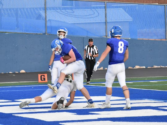 Dixie defeated Snow Canyon 34-28 on Friday, September 13, 2019.