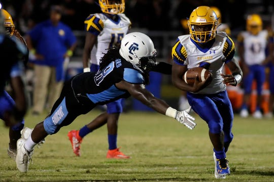 The Gadsden County Jaguars hosted the Rickards Raiders for a high school football game Friday, Sept. 13, 2019.
