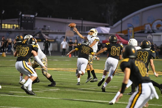 After losing a close one to Newbury Park last week, quarterback Cade Ledesma and Ventura will try to take down unbeaten Camarillo on Friday night.