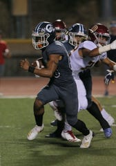 Jesse Valenzuela ran for 263 yards and three touchdowns in Camarillo's rout of Bishop Diego on Saturday night.