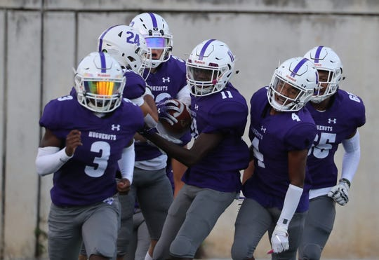 New Rochelle beat North Rockland 37-7 at New Rochelle Sept. 13, 2019.