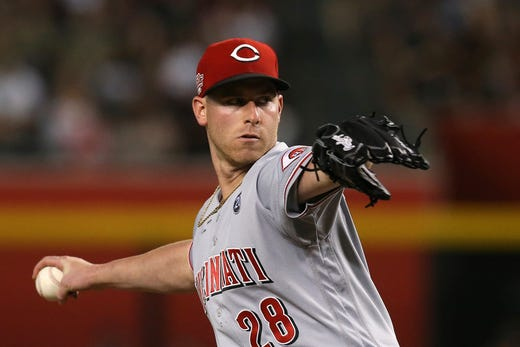 Anthony DeSclafani, Cincinnati Reds make MLB history in 1-0 loss to Arizona Diamondbacks