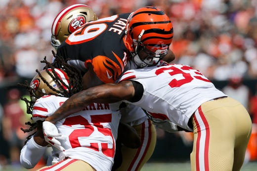 Cincinnati Bengals go from encouraging to discouraging in 41-17 loss to San Francisco 49ers