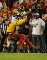 Brandon Smith and Iowa hurdled Iowa State in a hard-fought game Saturday night at Jack Trice Stadium. But why aren't the Hawkeyes getting more credit?