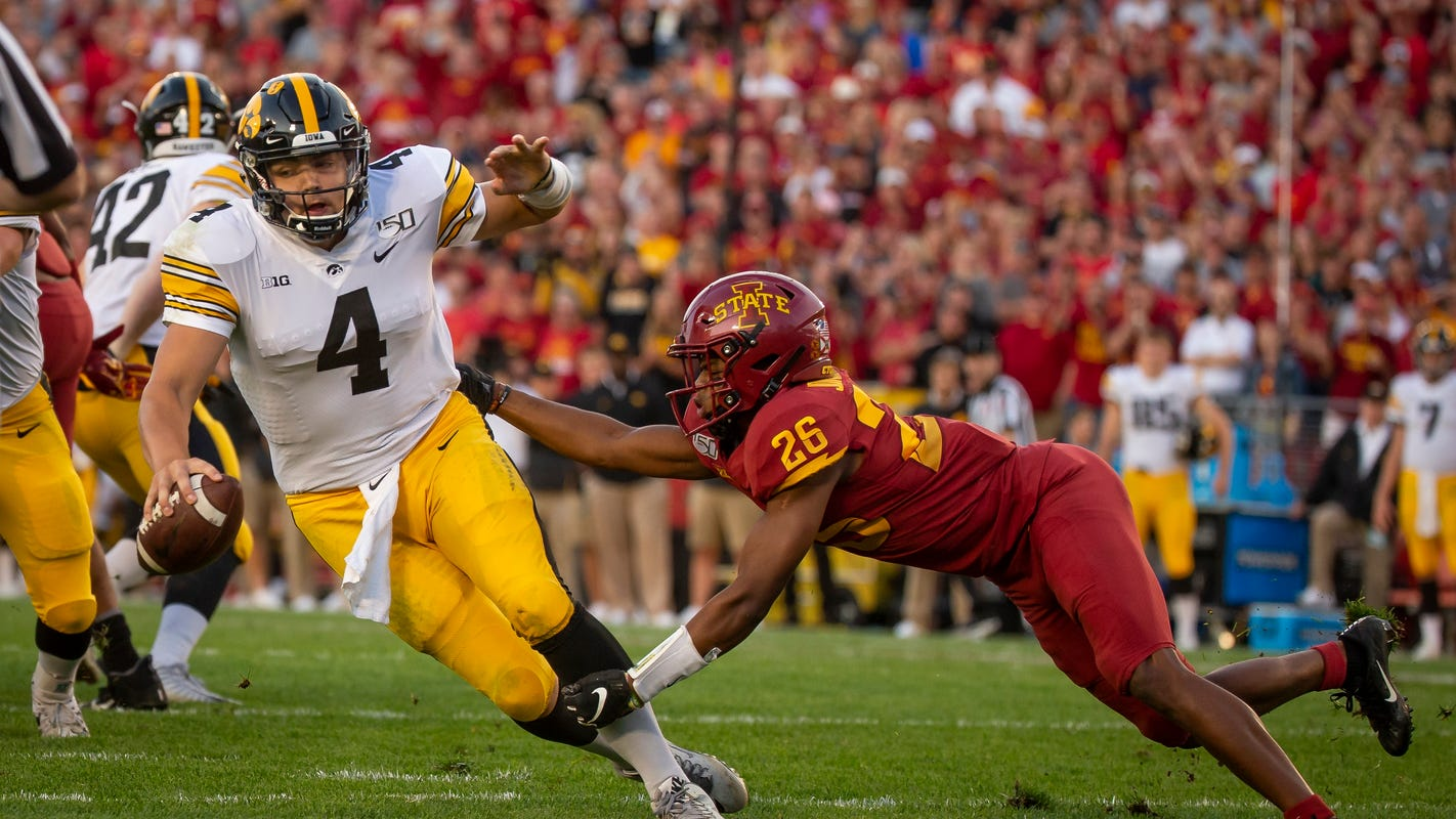 Leistikow's Cy-Hawk thoughts: Give Keith Duncan a scholarship now; Hawkeyes deliver a special win in Ames