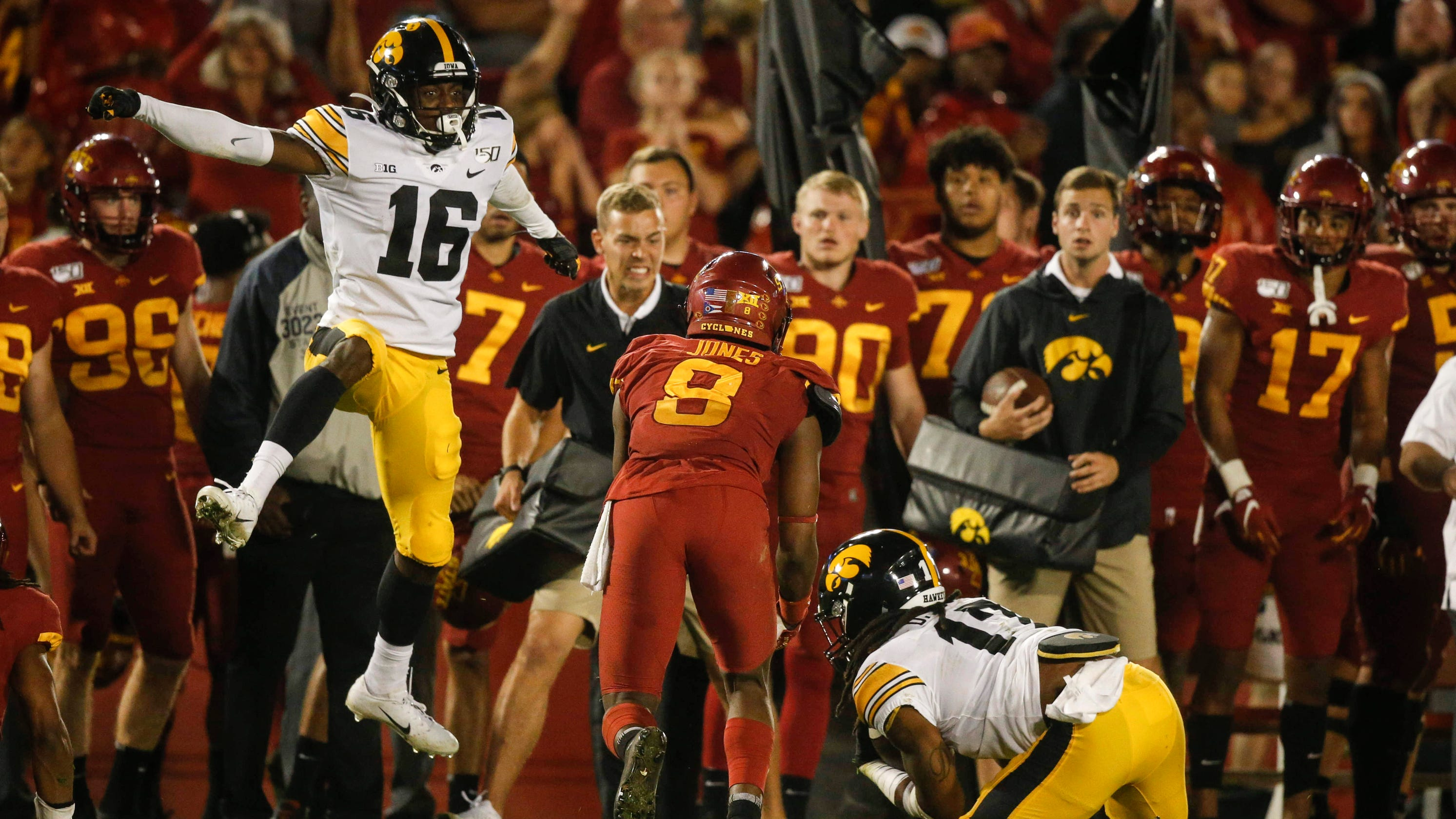 Image result for iowa state punt return fail