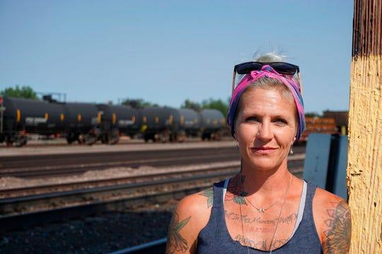 Blackjewel warehouse technician Melissa Worden.